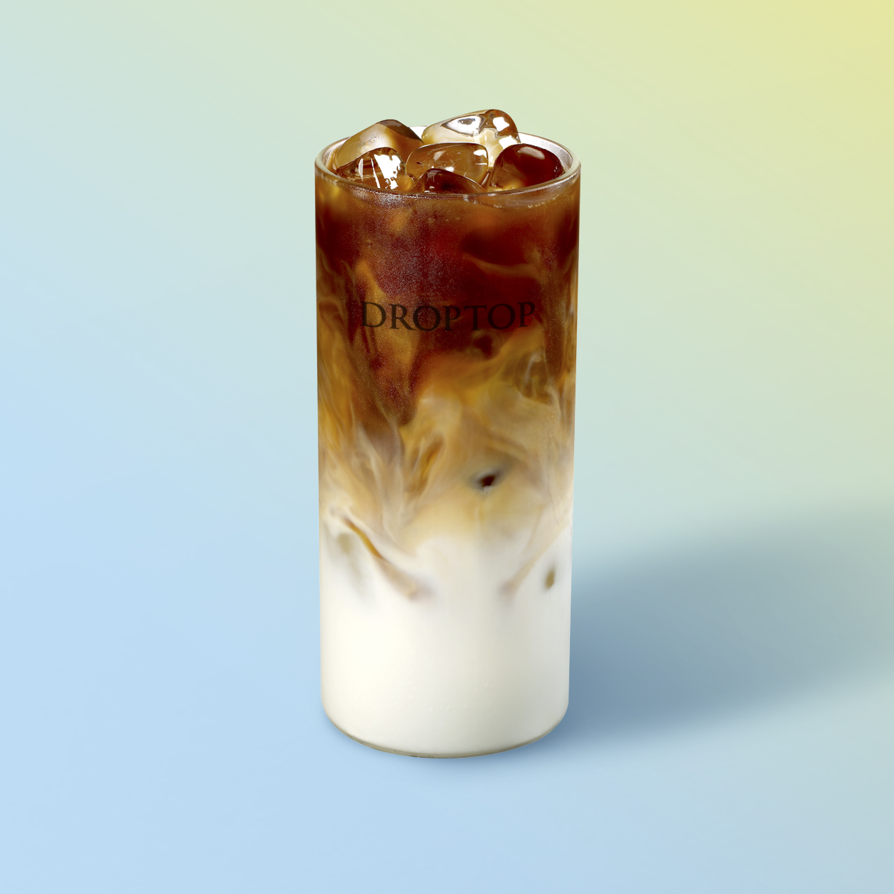 연유 콜드브루 라떼 (Condensed Milk Coldbrew Latte)